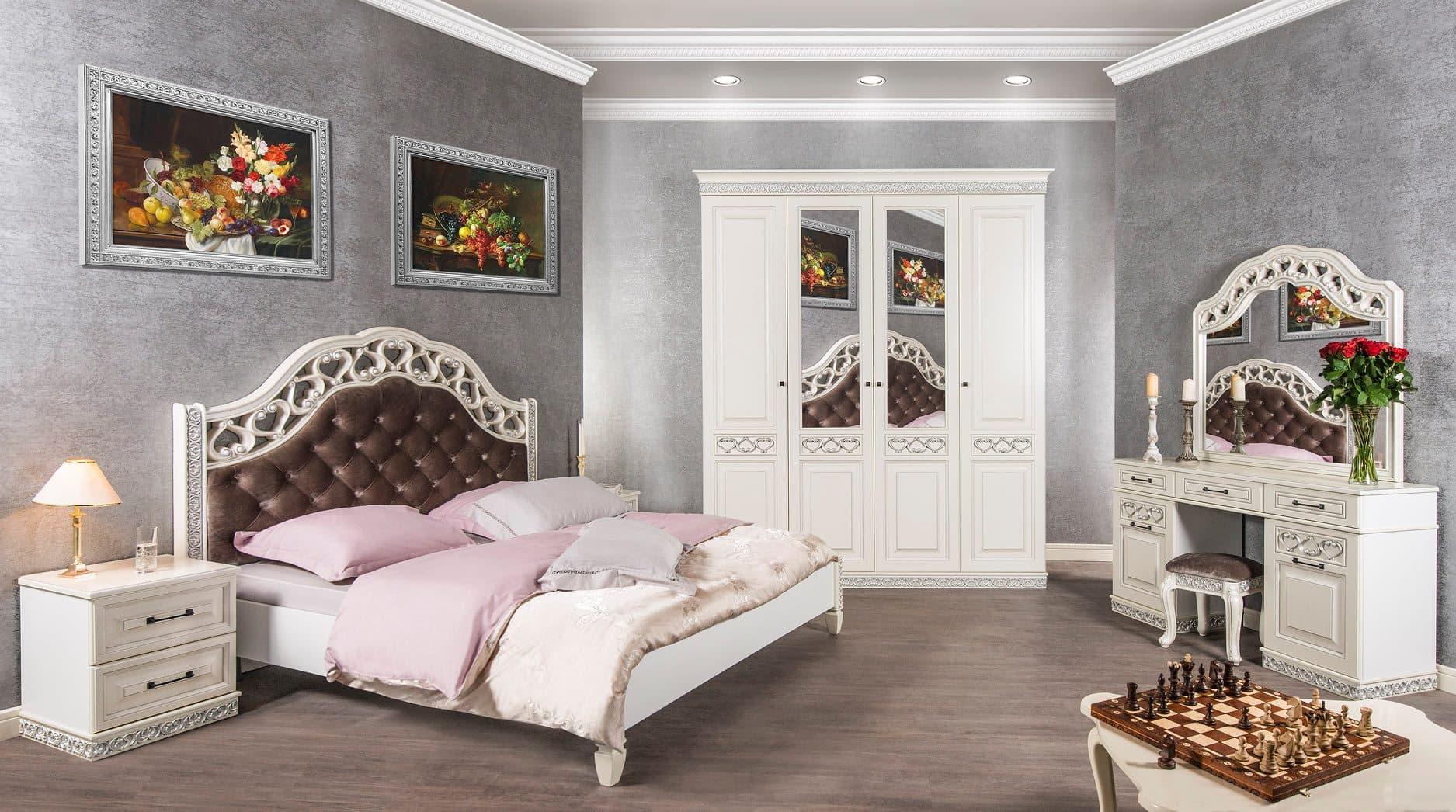 """Классическая мебель для спальни""""Мария"""" от мебельной фабрики """"СКФМ"""""""