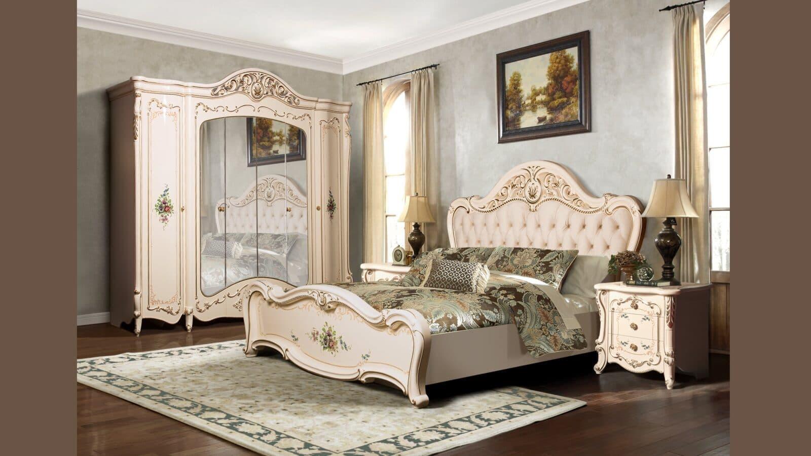 """Спальная мебель """"Дукале Люкс"""" от мебельной фабрики СКФМ"""