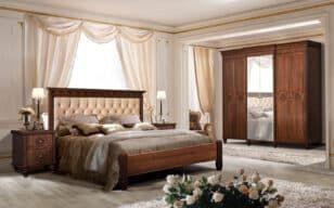 """Спальня """"Кастилия"""" орех от мебельной фабрики """"СКФМ"""""""